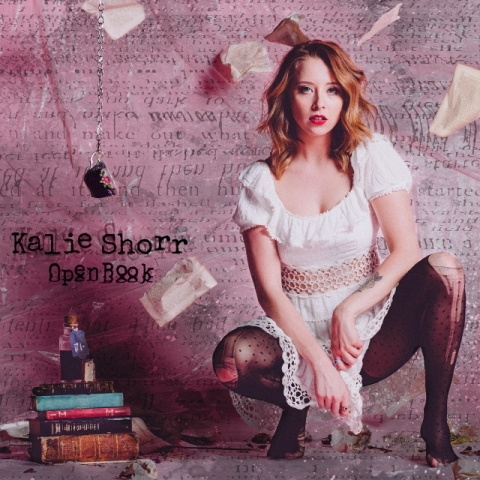 Kalie Shorr Open Book Album cover reduced