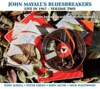 johnmayallsbluesbreakerslive in 1967volume2cover