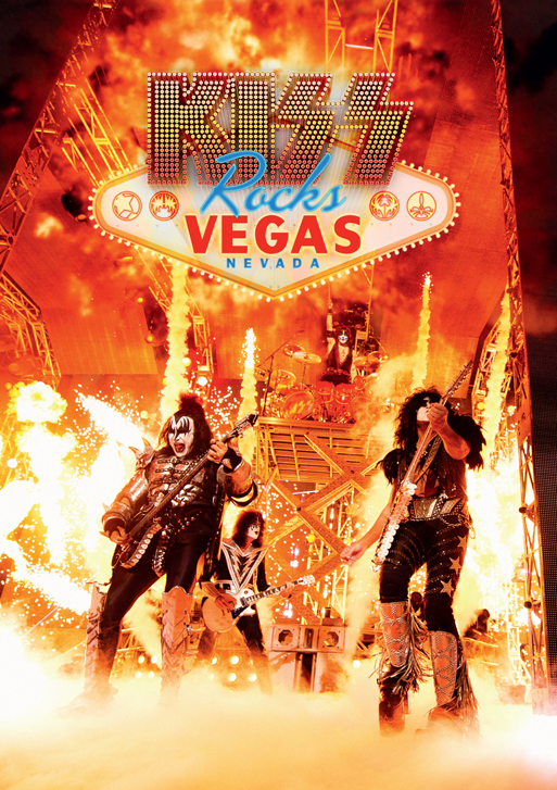 kiss rocks vegas dvd cover lr