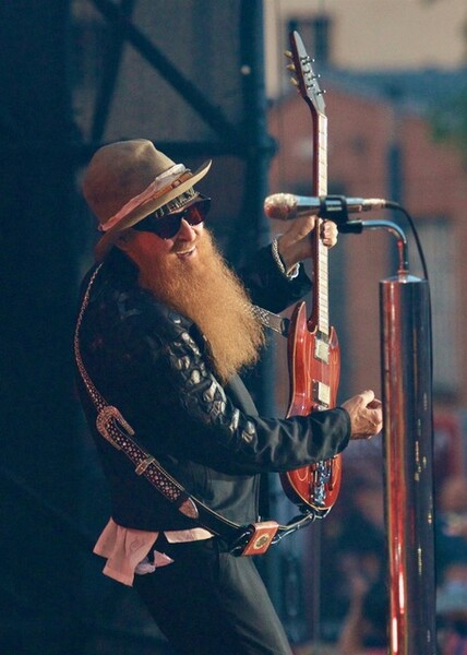 Billy Gibbons live by Blain Clausen