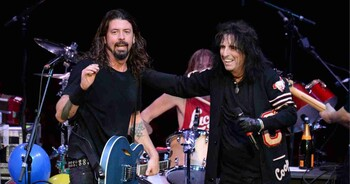 Alice Cooper Foo Fighters
