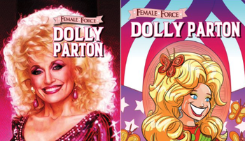 Dolly Parton Comic Book