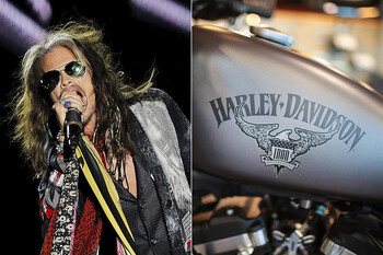 aerosmith harley davidson collaboration