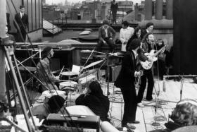 beatles roof top