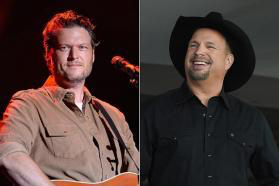blake shelton garth brooks