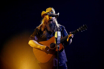 chris stapleton song about late dog maggies song