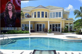 shania twain bahama mansion