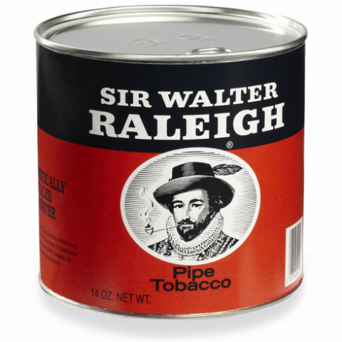 sir walter raleigh regular pipe tobacco can 14 oz can 4